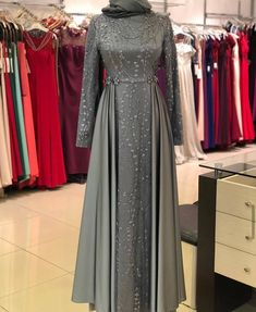 Gamis brokat cantik Source by fahrezasatira brokat Hijab Prom Dress, Hijab Gown, Hijab Style Dress, Dress Outfits, Dress Brokat Modern, Kebaya Modern Dress, Kebaya Dress, Model Kebaya Brokat Modern, Islamic Fashion
