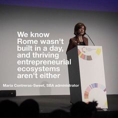Rome wasn't built in a day, neither will thriving entrepreneurial ecosystems