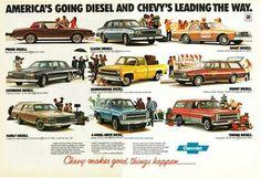 Diesel vehicles from General Motors. Oops! I mean Garbage Motors. What was GM thinking?