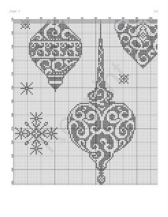 Elegant ornaments (bottom left)