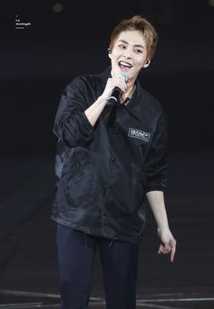Xiumin - 160305 Exoplanet - The EXO'luXion in Dalian Credit: 미니메이디오. Kim Minseok Exo, Exo Xiumin, Dalian, Exo Luxion, Kim Min Seok
