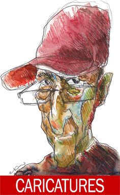 Click LIVE CARICATURES ABOVE ........  Click LIVE CARICATURES ABOVE ........ Multiple caricatures of the artist by the artist.  I like hats. I like caricaturing. Call me on 0412 463 471