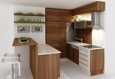 7 Creative Simple Ideas: Minimalist Bedroom Interior Home Office contemporary minimalist interior woods.Minimalist Bedroom Interior Home Office minimalist home organization closet. Minimalist Kitchen, Minimalist Interior, Minimalist Bedroom, Minimalist Decor, Kitchen Modern, Kitchen Small, Kitchen White, Modern Minimalist, Minimalist Cabinets