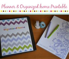 "2013 Everyday Planner and Family Organization Binder ""The Works"". $20.00, via Etsy."