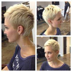 Krótkie fryzury - kobiece i modne. Nudno na głowie? Spróbuj tego - Strona 19