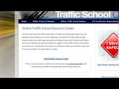 Got a traffic ticket? Dismiss it online! Get online traffic school reviews, discount codes, and rebates. Don't pay more than you have to!