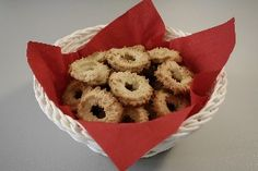 Vaniljekranse - Vanilla Wreaths... Danish butter biscuits at their best and an absolute MUST for a proper holiday.