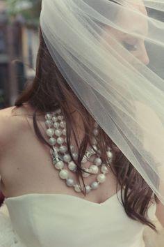 Bride's Pearl necklace