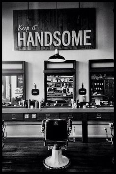 Keep it handsome...