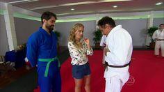 Ricardo Pereira e Oscar Magrini  http://globotv.globo.com/rede-globo/estrelas/t/programas/v/judocas-ricardo-pereira-e-oscar-magrini-lutam-juntos/3277524/