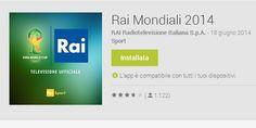 RAI Mondiali 2014 l' applicazione ufficiale per seguire i Mondiali 2014 in Brasile - http://www.tecnoandroid.it/rai-mondiali-2014-l-applicazione-ufficiale-per-seguire-i-mondiali-2014-in-brasile/