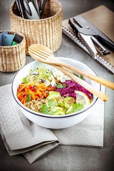 Easy Recipes, Easy Meals, Bowl, Tahini, Vinaigrette, Ethnic Recipes, Cooking Recipes, Seasonal Recipe, Food Photography