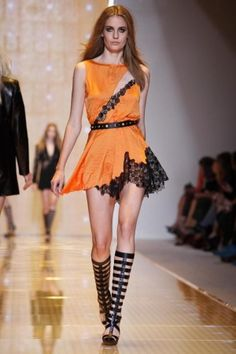 Versace Spring Summer Ready To Wear 2013 Milan
