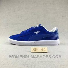 2f8ac08949e8 Puma Men Leisure Sneaker Md Outsole Pig Leather Ocean Blue Free Shipping  SPa62