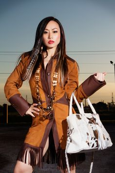 Photo from Young Native Native American Fashion, Native Fashion, Native Style, Love Is Free, Trends, Couture, Old Women, Designer, Leather Jacket