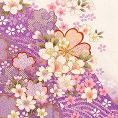Japanese Art Prints, Japanese Textiles, Japanese Patterns, Japanese Design, Japanese Paper, Japanese Fabric, Kimono Pattern, Pattern Art, Textile Prints