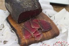 How to make bresaola at home.