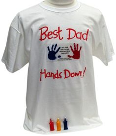 Father's day gift: Hand-y Tees Best Dad Tee Keepsake Product, X-Large Trending Christmas Gifts, Christmas Gift For Dad, Unique Christmas Gifts, Father's Day T Shirts, Dad To Be Shirts, Tee Shirts, Fathers Day Gifts, Gifts For Dad, Father's Day Specials