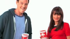 GLEE slush gif any gif is a good gif with Cory in it.