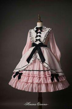 Hinana -To Alice- Lolita Collar OP Dress the mint green is very nice Harajuku Fashion, Kawaii Fashion, Cute Fashion, Vintage Fashion, Vintage Style, Gothic Lolita Fashion, Rock Fashion, Fashion Fashion, Pretty Outfits