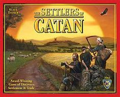 In Settlers of Catan, players collect the resources; brick, sheep, ore, wood and wheat, in order to build up their civilizations through building roads, settlements and cities. Players acquire the resources through a combination of dice rolls and trading with their opponents, with ports or with the bank.