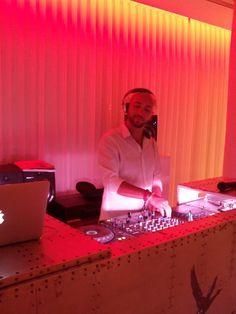 EL Dj Andy Laguna en Visiónica. EL HOTEL pacha, Ibiza