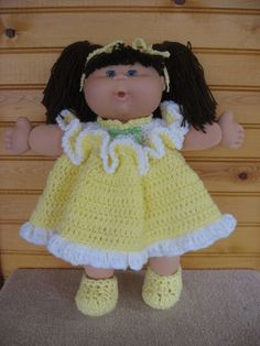 Crochet cabbage patch kid doll clothes tutorial crochet cabbage cabbage patch doll clothes crochet dt1010fo