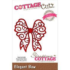 CottageCutz - CottageCutz Elites Die - Elegant Bow