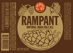 New Belgium - Rampant IIPA - Bought a variety pack at Costco this past weekend - this is in there, and I really like it.