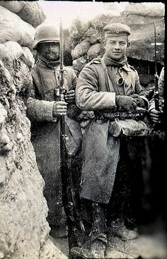WW1 - Winter in the trenches, 1917