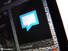 Polarbear arrives in BlackBerry World! http://appworld.blackberry.com/webstore/content/20406620/