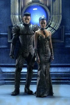 Boy crush and girl crush! Karl Urban and Thandie Newton in Chronicles of Riddick