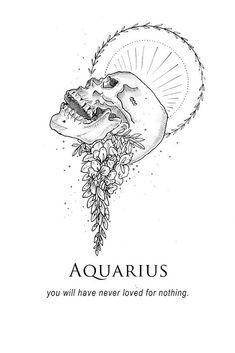 'Aquarius - Shitty Horoscopes Book XII: Obituaries' by musterni Aquarius Symbol, Aquarius Art, Age Of Aquarius, Zodiac Signs Aquarius, Zodiac Art, Zodiac Horoscope, Aquarious Tattoo, Aquarius Aesthetic, Witch Tattoo