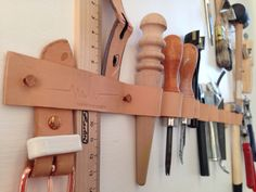 Leather workshop // berlin / marina hoermanseder