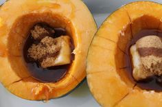 The Saucy Gourmet: Easy Baked Acorn Squash