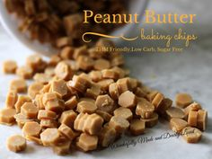 Peanut Butter Baking Chips - Wonderfully Made and Dearly Loved