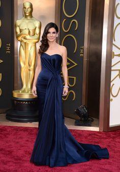 Sandra Bullock at the 2014 Oscars.