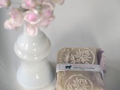 Romantic soap wrappings inspired by Downton Abbey