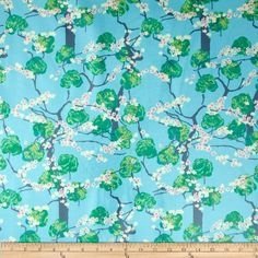 Amy Butler Alchemy Laminate Fairy Tale Sky Fabric