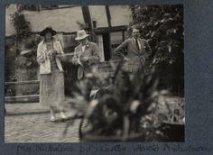 Vita Sackville-West; Sir Desmond MacCarthy; Harold Nicolson (1925)