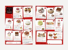 Menu Book, Cake Packaging, Magazine Layout Design, 20th Birthday, Article Design, Communication Design, Menu Design, Christmas Design, Editorial Design