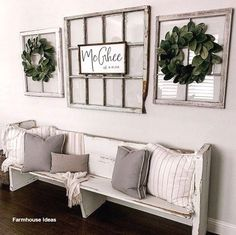 living room wall decor beautiful farmhouse living room design and decor ideas 56 Room Design, Home Living Room, Wall Decor Living Room, Fall Living Room, Farmhouse Wall Decor, Country Farmhouse Decor, Country House Decor, Home Decor, Farmhouse Decor Living Room