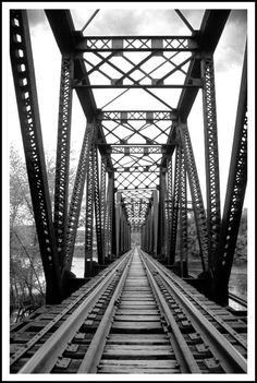 Railroad Trestle in Warren, PA