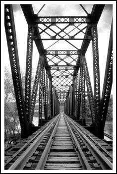 Railroad Trestle in Warren, PA