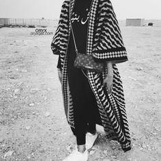 Hijab Fashion Selection of over 100 looks in trendy and chic Abaya Iranian Women Fashion, Arab Fashion, Islamic Fashion, Muslim Fashion, Modest Fashion, Look Fashion, Fashion Design, Hijab Fashion 2017, Kimono Fashion