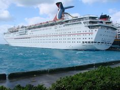 Carnival Fantasy...the very first cruise ship I went on...twice back in the 90's.