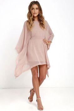 Chasing Daylight Blush Kaftan Dress at Lulus.com!