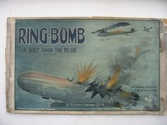 An example of the game Ring-Bomb with pictures, Vintage Games, Table Games, Pictures, Rings, Painting, Art, Board Games, Photos, Kunst