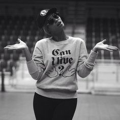 "Beyoncé wore a ""Can I Live?"" shirt while rehearsing for the Super Bowl halftime show in New Orleans 