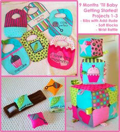 Fat quarter projects! Must try!